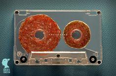 ハム・カセットテープ。