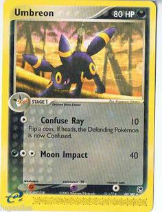 Pokemon Card EX Sandstorm Non Holo Rare Umbreon 24/100 - FREE combined ship