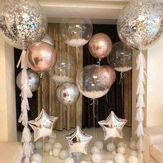 40th Birthday Balloons, Wedding Balloons, Birthday Parties, Diy Birthday, Classy Birthday Party, Birthday Ideas, Surprise Birthday, Birthday Outfits, Birthday Pictures