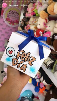 Diy Birthday, Birthday Gifts, Happy Birthday, Diy Teddy Bear, Pretty Letters, Weird Gifts, Tumblr Stickers, Party In A Box, Disney Drawings