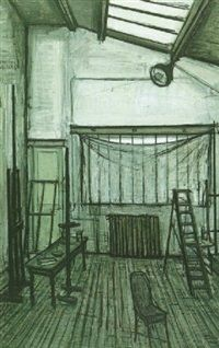Latelier by Bernard Buffet