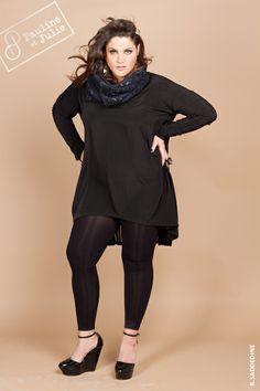 La Mode, les femmes rondes,Pauline et Julie, Vêtement créateur grande taille du 36 au 54: COLLECTION AUTOMNE HIVER 2013/2014 -*FW13/14