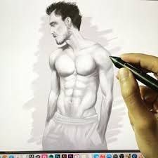 human body sketch abs - Google Search