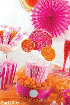 Life's So Sweet can make you a Candy buffet. Think of us for your next party.