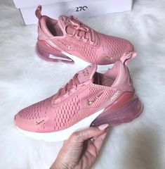 Swarovski Nike Air Max 270 Rust Pink Metallic Red Bronze Sail customized  with Rose Gold SWAROVSKI® Xirius Rose-Cut Crystals 27dc5a641