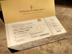 Aviazione aereo viaggi a tema matrimonio invito