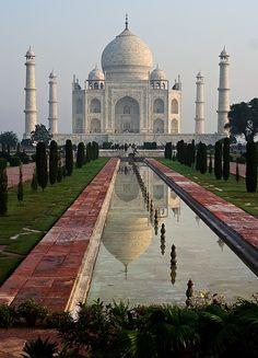 Taj Mahal. The gift of love Beautiful