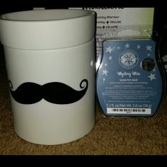 May Mustache Warmer Scentsy