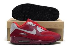 buy popular b9c22 ed492 Nike Air Max 90 Hyperfuse Premium Wine Red