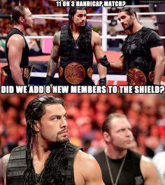 The Shield meme
