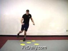 Agility Dot Drill - Footwork Drill - Exercise Tips & Ideas - YouTube