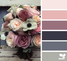 { color bouquet } image via: @fairynuffflower