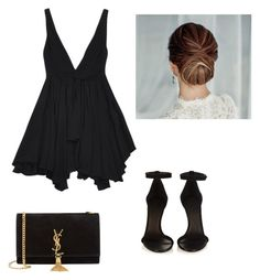 """Formal #lbb"" by klara-gizova on Polyvore featuring Yves Saint Laurent, Isabel Marant, women's clothing, women's fashion, women, female, woman, misses and juniors"
