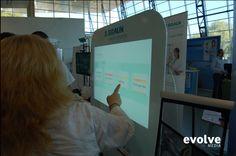BBRAUN interactive quiz application  Touch window display Custom quiz application Kinect interactive visualization http://evolve-media.ro