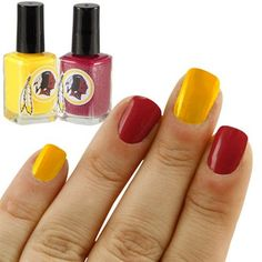 Congrats @Jessie Large! You are today's Fanatics Wish List Contest Winner! Please email us at SocialMedia@Fanatics.com so we can send you your prize code and you can get this Washington Redskins Nail Polish for FREE! #FanaticsWishList