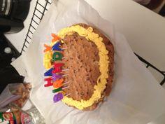 Birthday cookie cake!