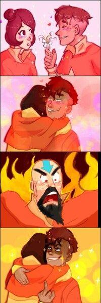 Lol kai xD, the legend of korra, kai, funny, kainora