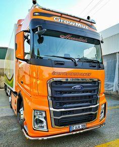 Big Rig Trucks, Ford Trucks, Man Tgx, Semi Trailer, Fiat, Vehicles, Trailers, Instagram, Beautiful Models