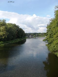 View of the Spree, a river that played an important role in connecting Fürstenwalde with the main trade and political routes in Germany and Poland.