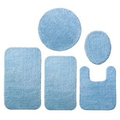 Room Essentials® Bath Rug - Daybreak Blue