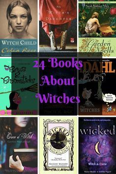 24 Books About Witches