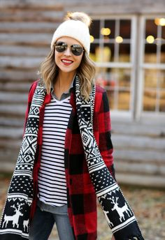 Stripes, plaid + fair isle