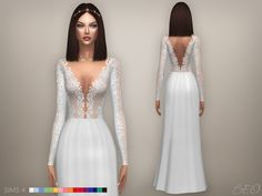 Collection - rita for the sims 4 by beo. Sims 4 Mods, Sims 4 Wedding Dress, Wedding Dresses, Tulle Wedding, Gown Wedding, Cc Fashion, Fashion Details, Sims 4 Dresses, Sims4 Clothes