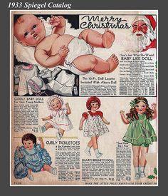 Vintage baby dolls!