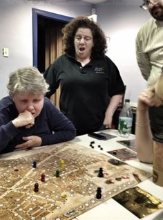 5 part series on board games for adults in the library
