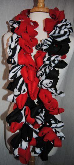 fleece scarf@Tracey Eldgridge