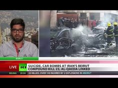 ▶ Suicide blasts hit Iranian embassy in Beirut, claimed by Al-Qaeda offshoot - YouTube