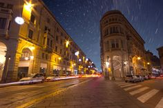 Photo Starry Night - Turin by Gabriele  on 500px