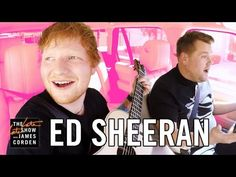 Ed Sheeran sings and stuffs his face full of candy on Carpool Karaoke - TODAY.com