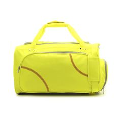 Sport Full Size Duffel Bag Actual  Softball Leather Separate Shoe Compartment #Zumer #DuffleBag