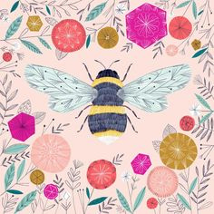 Busy Bee by Bethan Janine