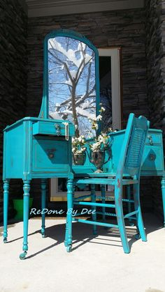 Request a Customized Vanity Dressing Table with by ReDonebyDee