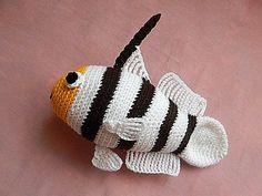 Amigurumi haak patroon - Yellownose Shrimp Goby patroon No.26