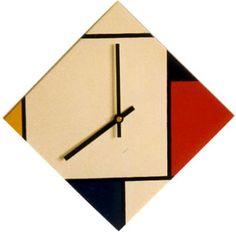 Wall Clocks | Rietveld / De Stijl~Clocks