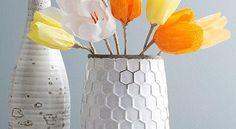 Tulpen basteln – 26 interessante Modelle