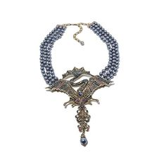 "Heidi Daus ""Alluring Interlude"" 3-Row Drop Necklace"