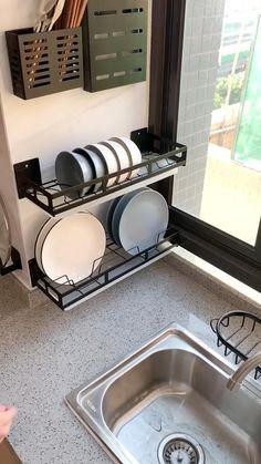 Kitchen Room Design, Home Room Design, Modern Kitchen Design, Home Decor Kitchen, Kitchen Furniture, Kitchen Interior, Home Kitchens, Diy Home Decor, Kitchen Ideas