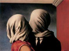 Magritte - Les amants (1928)
