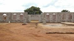 Shigamani, South Africa. The new multipurpose building is almost complete!