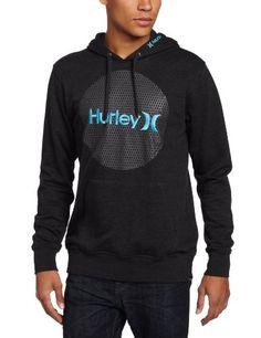 Hurley Men`s Krush and Only Mesh Fleece Pullover
