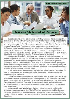 Business statement integral component of your small business's overall strategic operation plan. Personal Statement Business has become one of the most important aspects of our PERSONAL STATEMENT OF PURPOS.