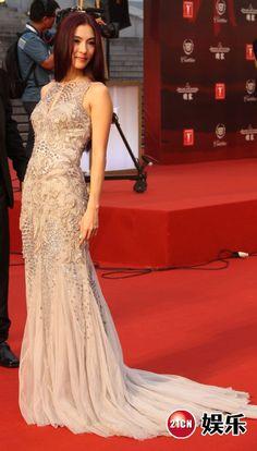 Cecilia Cheung in Roberto Cavalli
