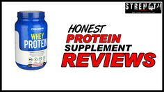 Precision Engineered Whey Protein Powder Review - Strength Oldschool reviews Strawberry Flavour of Precision Engineered Whey Protein.