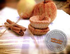 Μάφινς μήλου χωρίς αλεύρι - Dairy-Free Dairy Free, Gluten Free, Apple Muffins, Sugar Free, Place Card Holders, Healthy Recipes, Breakfast, Food, Brownies