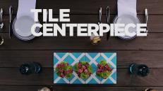 A DIY tile centerpiece that doubles as coasters >> http://www.hgtv.com/shows/lazy-entertainer/videos?soc=pinterest