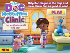 Doc McStuffins printables & website